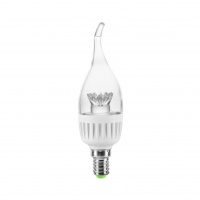 Bec LED Lumineco PRO C37 Breeze Clear 5W E14 3000K